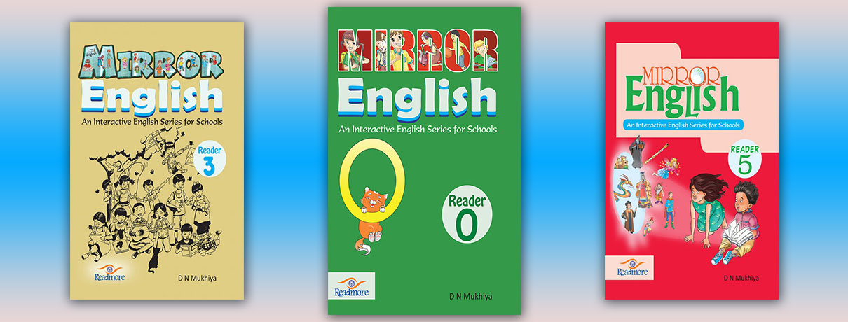 Mirror English book slider image